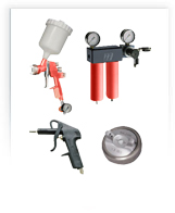 Оборудование для автосервиса: Краскопульты