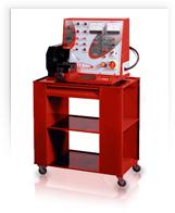 Стенд электрический для быстрого испытания и контроля работы электрооборудования автомобилей - стартеров и...