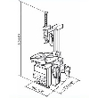 Werther-OMA Titanium300/24IT Шиномонтажный станок автоматический, 11-22