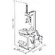 Werther-OMA Titanium100/22 Шиномонтажный станок полуавтоматический, 11-22
